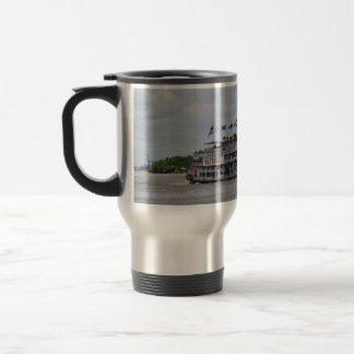 Mississippi River Boat New Orleans Travel Mug
