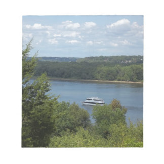 Mississippi River boat Notepad