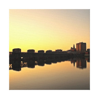 Mississippi River Reflection Canvas Print