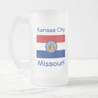 Missouri Flag Map City Mug