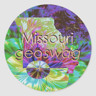 Missouri Geocaching Supplies Stickers Geoswag