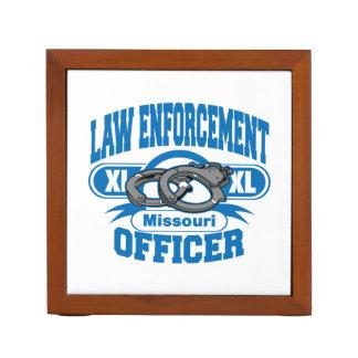 Missouri Law Enforcement Officer Handcuffs Desk Organiser