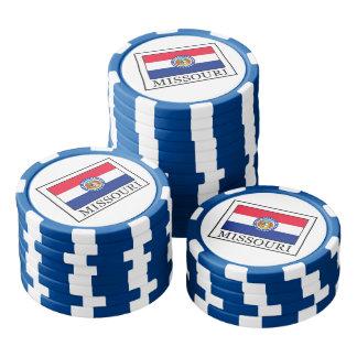 Missouri Poker Chips