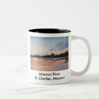 Missouri River Two-Tone Coffee Mug
