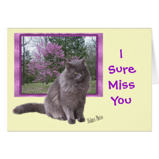 MissYou-customize to any occasion Greeting Card