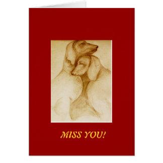 missyou! note card