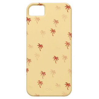 Misty Cream Palm Trees Barely There iPhone 5 Case