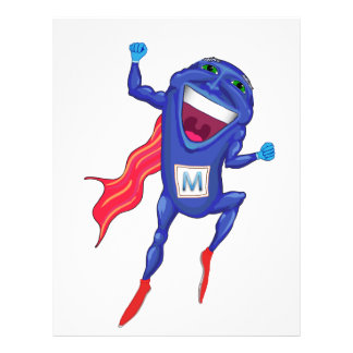Mitochondria Man Personalized Flyer