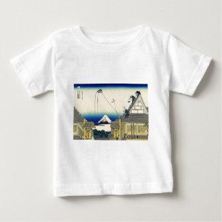 Mitsui Shop on Suruga Street in Edo by Katsushika Baby T-Shirt