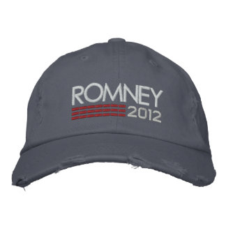 MITT ROMNEY 2012 - campaign hat Embroidered Baseball Caps