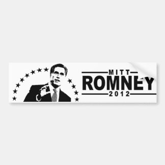 Mitt Romney 2012 Car Bumper Sticker
