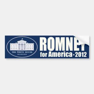 Mitt Romney for America 2012 Bumper Sticker