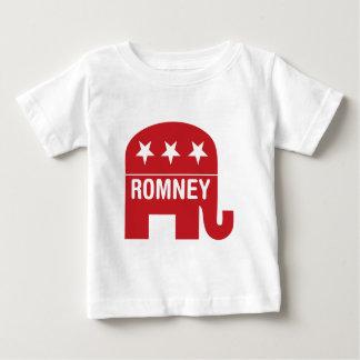 Mitt Romney Republican Elephant (Romney) Baby T-Shirt