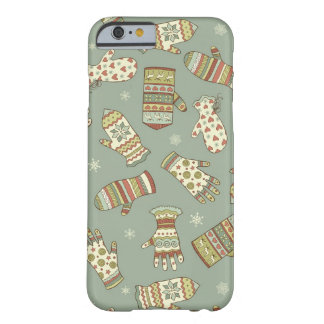 Mitten Pattern Barely There iPhone 6 Case