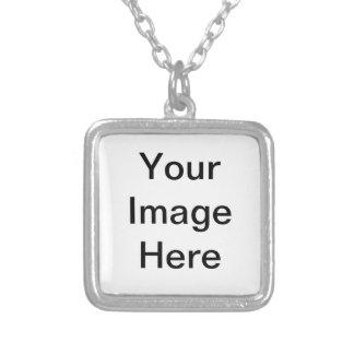 Mix Items Square Pendant Necklace
