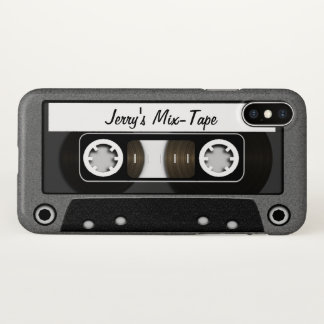 Mix Tape Personalized iPhone X Case