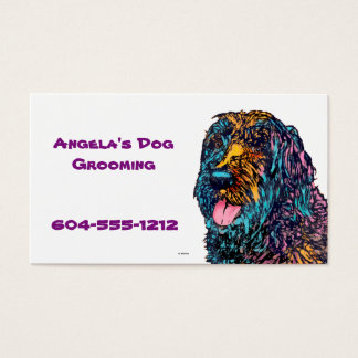 Mixed Breed Dog Business Card