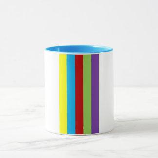Mixed Coloured Mug
