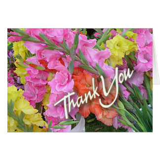 Mixed Glads Thank You Blank Note Card