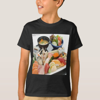Mixed Sushi Plate & Japanese Soup Art Gifts & Tees