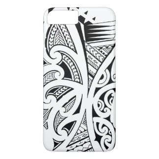 Mixed tattoo styles, Maori, Samoan and Polynesian iPhone 7 Plus Case