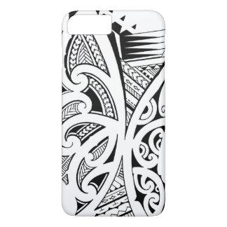 Mixed tattoo styles, Maori, Samoan and Polynesian iPhone 8 Plus/7 Plus Case