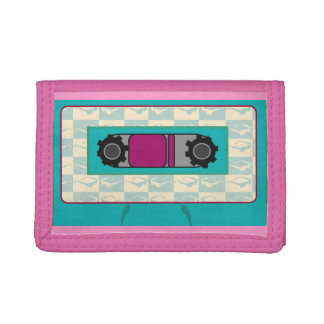 Mixtape Madness Trifold Wallet
