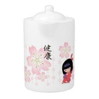 Miyono Sakura Teapot