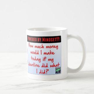 MLM Network Marketing Mindset reminder mug