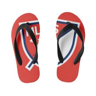 MLS Soccer Flip Flops