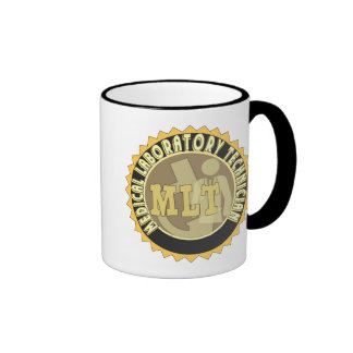 MLT BADGE MEDICAL LABORATORY TECHNICIAN RINGER MUG