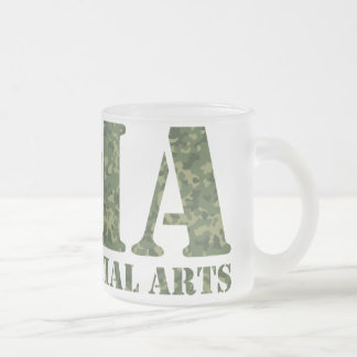MMA Camo Glass Mug
