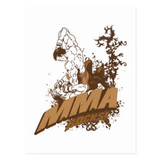 MMA Rocks Postcard