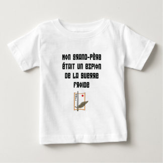 mmfl my grandfather was a cold war spy baby T-Shirt