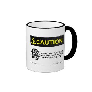 MMK Caution mug