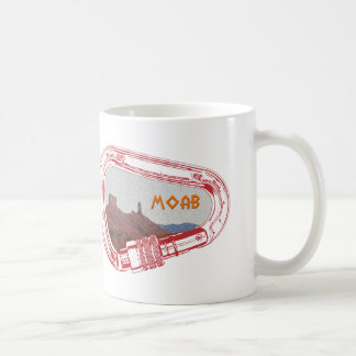 Moab Climbing Carabiner Coffee Mug