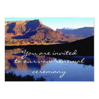 Moab Utah 13 Cm X 18 Cm Invitation Card