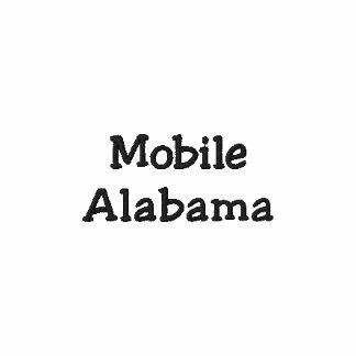 Mobile Alabama Embroidered Polo Shirt !!!