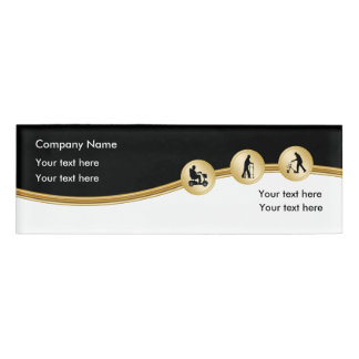 Mobility Business Employee Name Badges