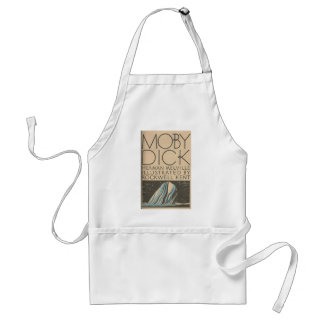 Moby Dick Cover Standard Apron
