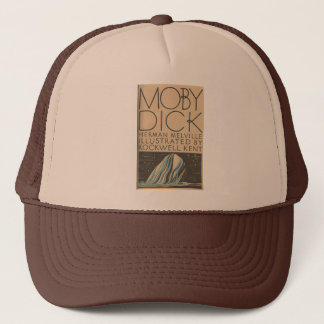 Moby Dick Cover Trucker Hat