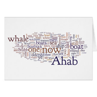 Moby Dick last chapters words graduation card