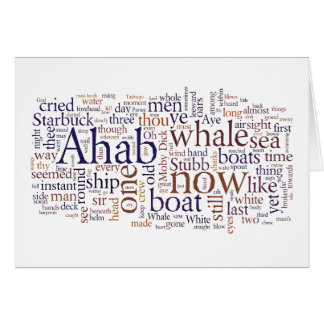 Moby Dick words last chapters graduation card