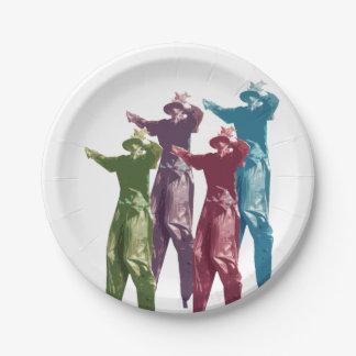 Mocko Jumbie 7 Inch Paper Plate