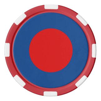 Mod British Army Roundel Poker Chips