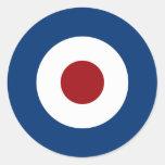 Mod Bullseye Archery Target Round Sticker