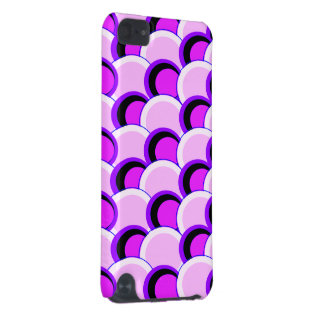 Mod Circles Pink and Purple iPod Touch 5G Case