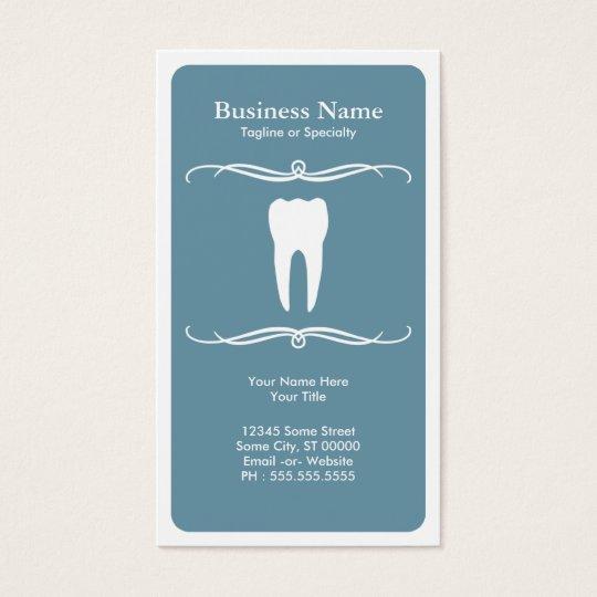 mod dental business card