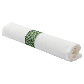 Mod Flower Lime Napkin Band