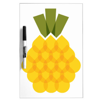 Mod Pineapple Dry Erase Whiteboards